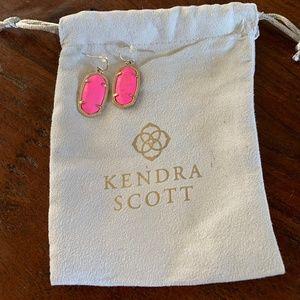Kendra Scott Pink Elle Earrings